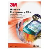 3M Write-On Overhead Transparency Film