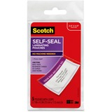 3M Scotch Self Laminating Luggage Tag Protectors