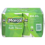 Marcal Grab 'N Go Bathroom Tissue - Bathroom Tissue - 2 Ply - 176 sheets/roll - White