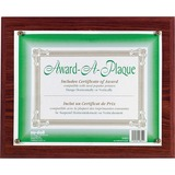 Nu-Dell Award-A-Plaque