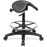Office Star ST205 Backless Saddle Seat Stool