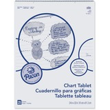 PAC74610 - Pacon Ruled Chart Tablet
