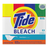 P&G Tide with Bleach - Powder - 214oz - Red, Blue