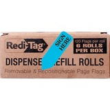 Redi-Tag Removable Sign Here Flag Refills