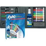 Sanford Expo 2 Low Odor Dry Erase Marker Kit - Chisel Marker Point Style - Assorted Ink - 1  Each