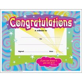 Trend Certificate of Congratulation