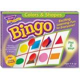 Trend Colors and Shapes Learner's Bingo Game