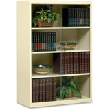 Tennsco Heavy-guage Steel Bookcase With Glass Doors