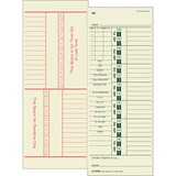 Tops Full Payroll Time Card
