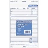 Tops Triplicate Job Work Order Form