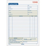 Tops Carbonless 3-Part Purchase Order Books