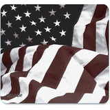 "Art Mouse Pad, American Flag Design, 8 3/5"" x 8""  MPN:29302"