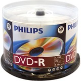 Philips DVD Recordable Media - DVD-R - 16x - 4.70 GB - 50 Pack Spindle DM4S6B50F/17