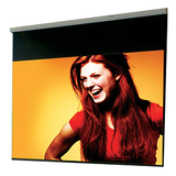 "Draper Luma Manual Projection Screen - 118.8"" - 1:1 - Wall Mount, Ceiling Mount 207004"