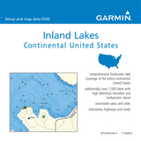 Garmin MapSource Inland Lakes Maps on DVD