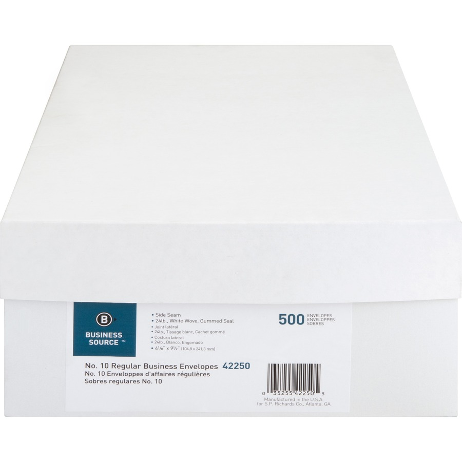 Business Source Regular Commercial Envelope