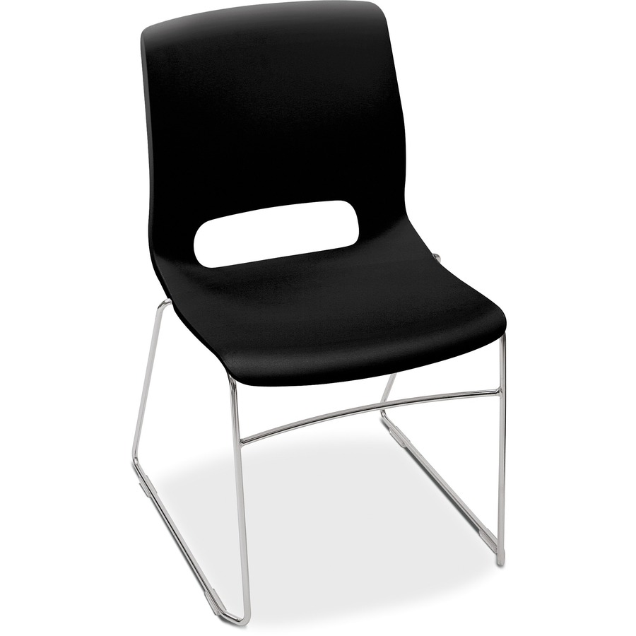 Hon Motivate Sled Based Stacking Chairs Honms101on