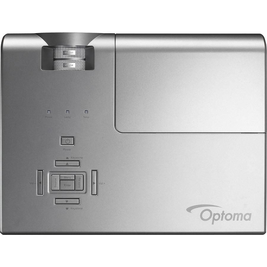 Optoma X600 XGA 6000 Lumen Full 3D DLP Network Projector with HDMI_subImage_6
