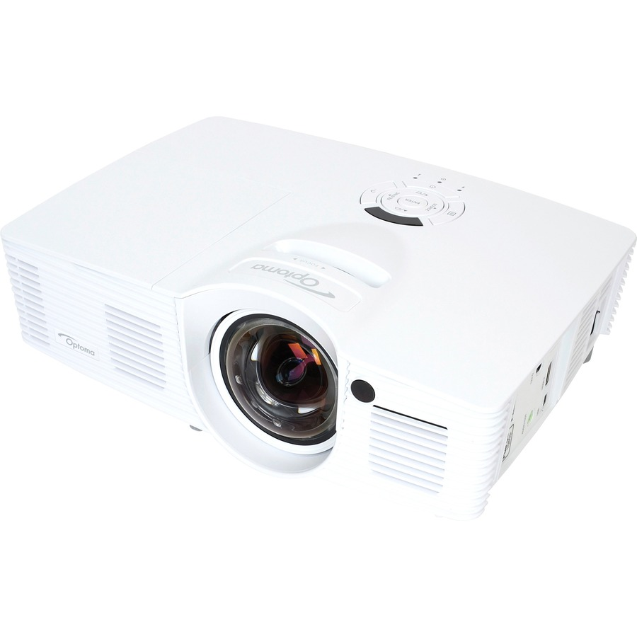 Optoma EH200ST Full 3D 1080p 3000 Lumen DLP Short Throw Projector with 20,000:1 Contrast Ratio and MHL Enabled_subImage_5