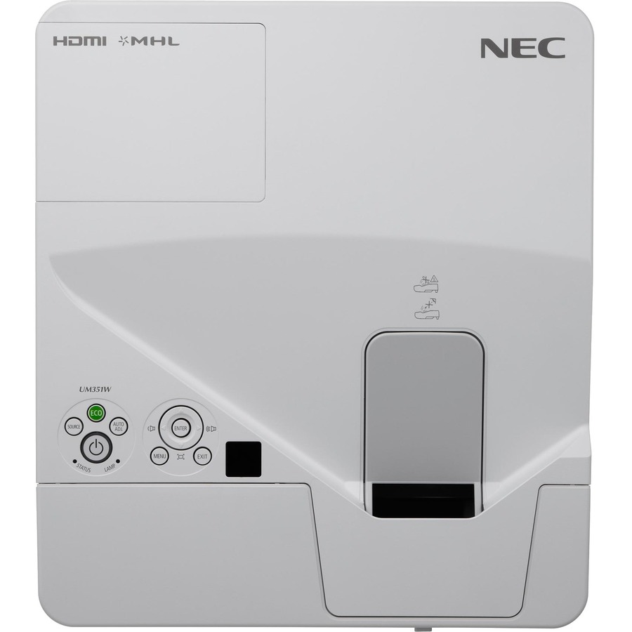 NEC Display NP-UM351W LCD Projector - White_subImage_5
