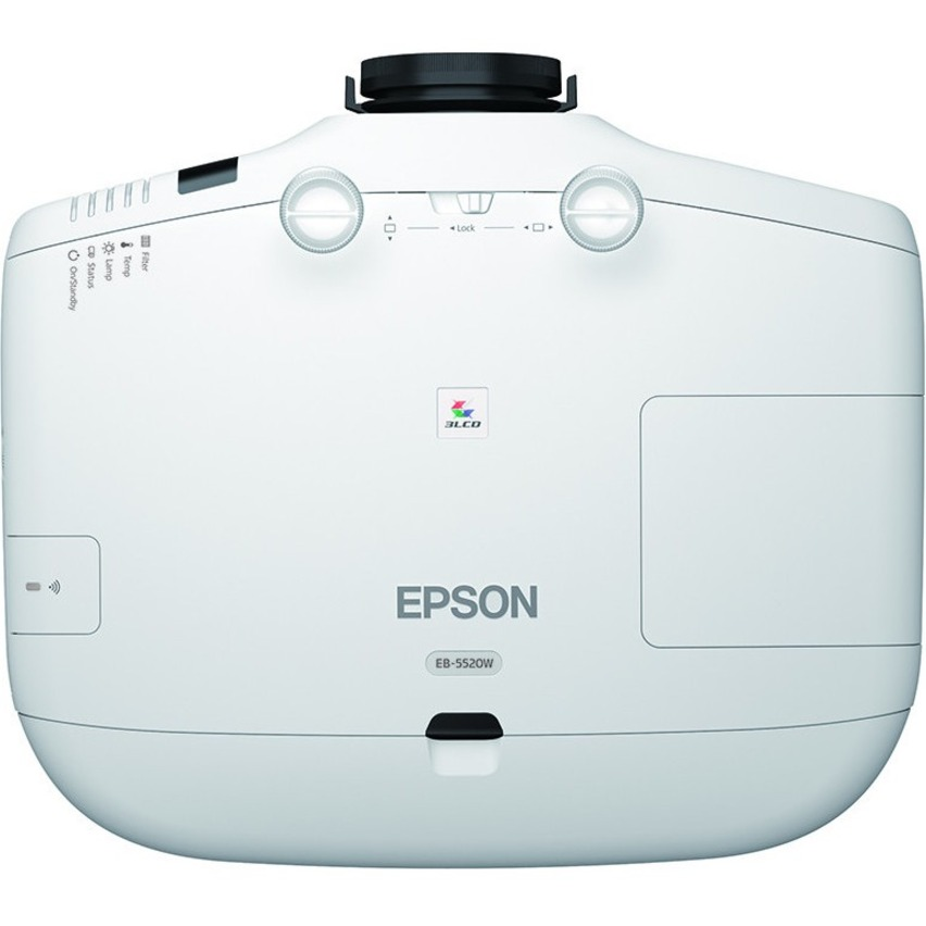 Epson PowerLite 5520W LCD Projector - 16:10_subImage_6