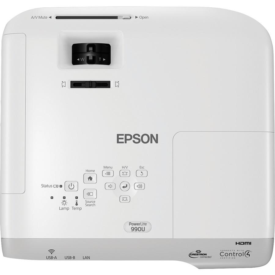Epson PowerLite 990U LCD Projector - 16:10_subImage_6
