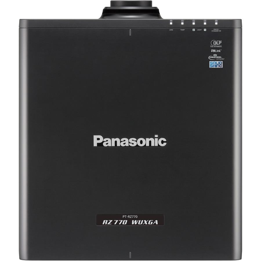 Panasonic SOLID SHINE PT-RZ770 DLP Projector - 16:10 - Black_subImage_5