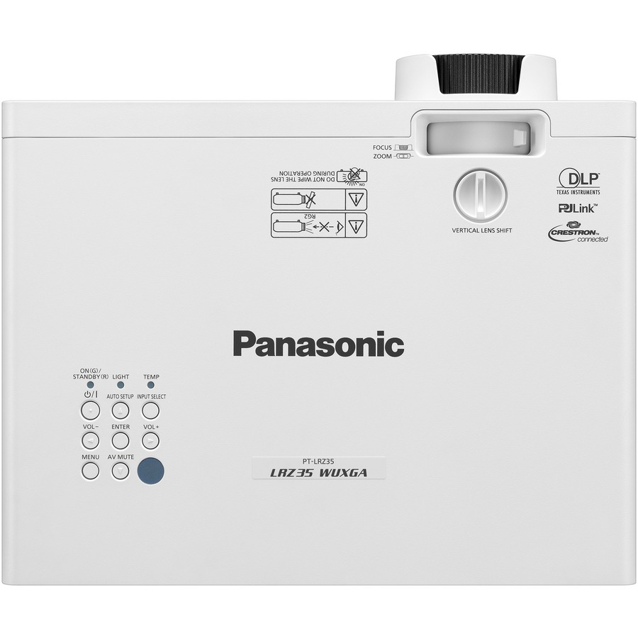 Panasonic PT-LRW35U 3D Ready DLP Projector - 16:10_subImage_7