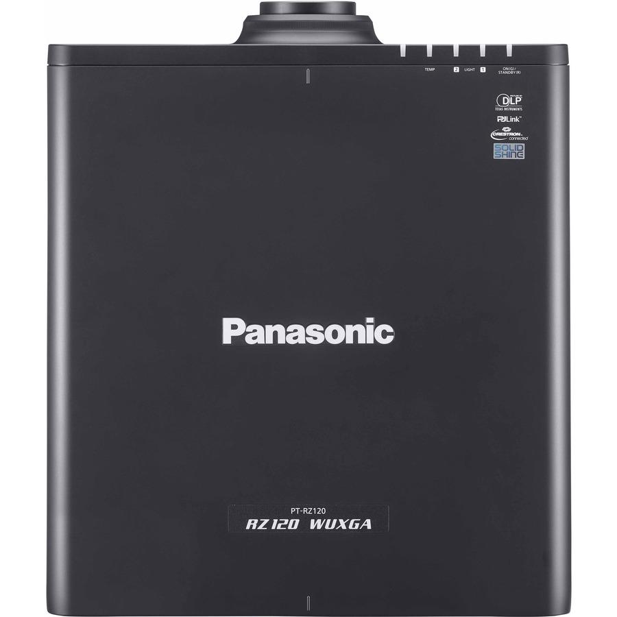 Panasonic SOLID SHINE PT-RZ120 DLP Projector - 16:10 - Black_subImage_5