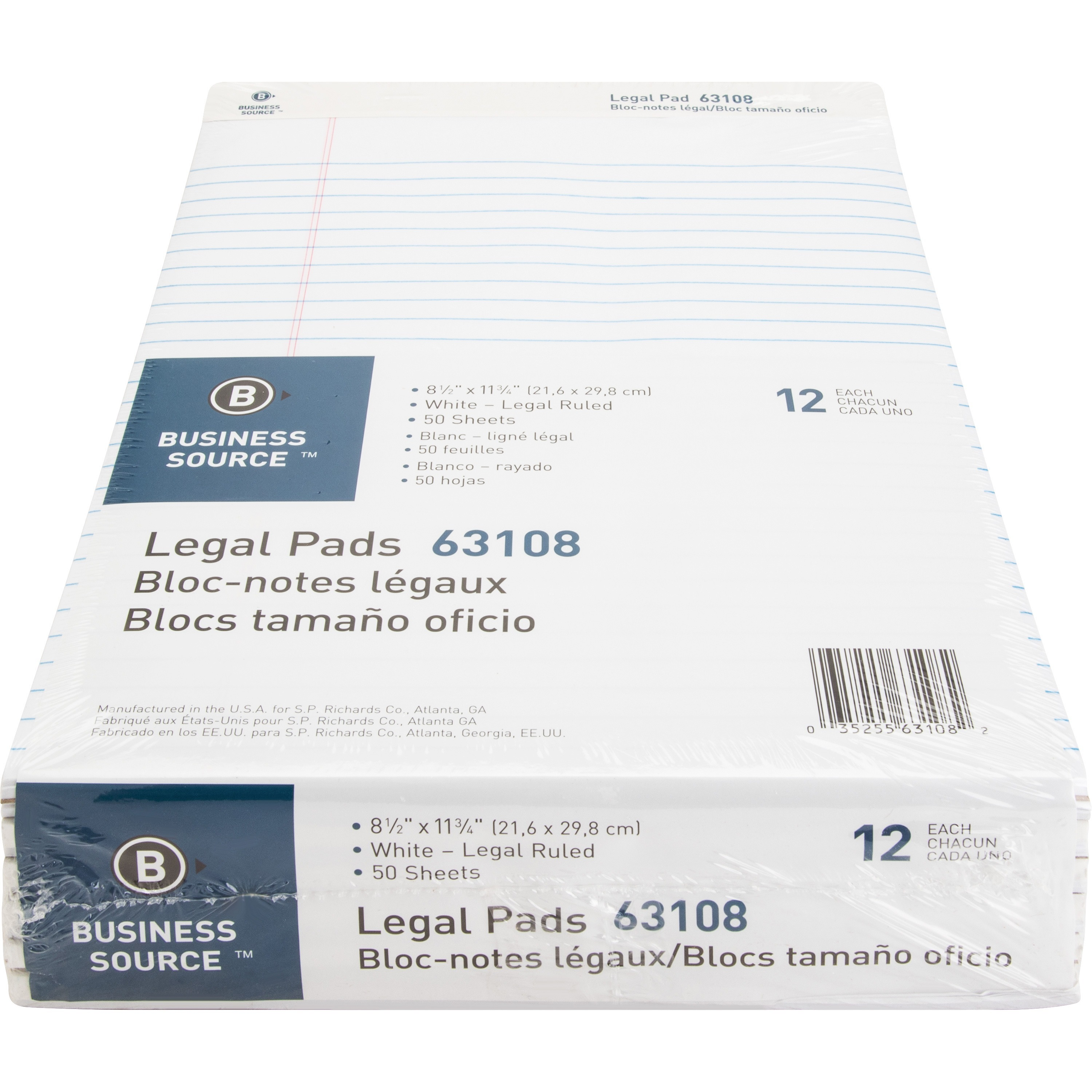 Business Source Legal-ruled Writing Pads