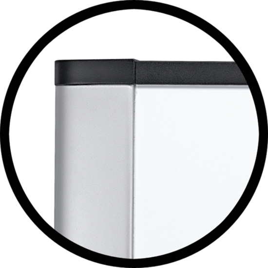 "3M Wide Screen Style Melamine Dry Erase Board 36"" Width x 24"" Height"