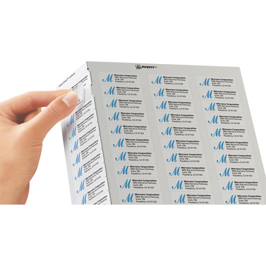 Avery white easy peel address labels icc business products zoom closeup saigontimesfo