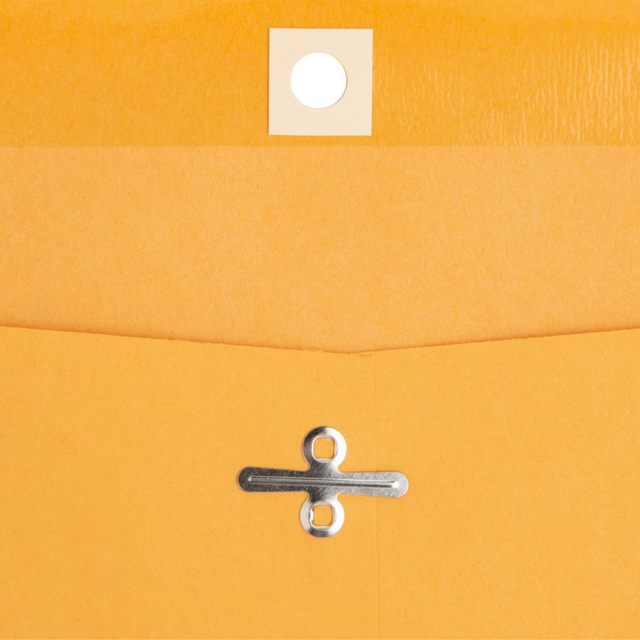 Business Source Heavy-Duty Clasp Envelope