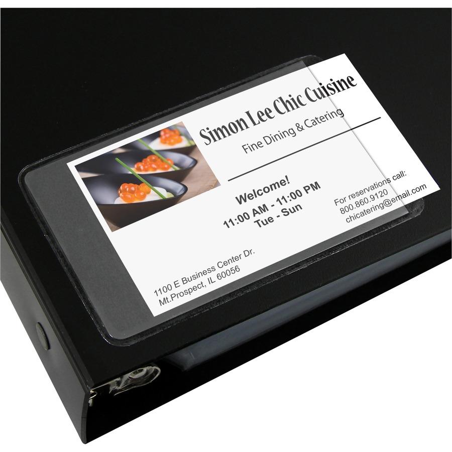 C-Line Side Load Business Card Holder - Servmart