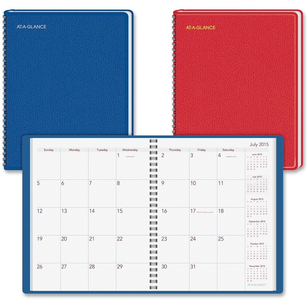 at a glance academic year fashion monthly planner aag7012500