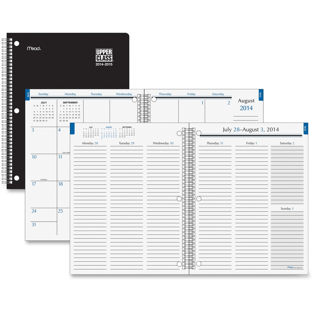at a glance upper class weekly monthly student planner aagtl80010