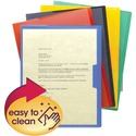 Smead Poly Opaque Project Jacket, Letter Size, Assorted Colors, 5 per Pack (85740)