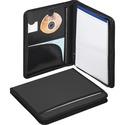 Smead Poly Nylon Covered Pad Folio, Zipper Closure, Letter Size, Black (85840)