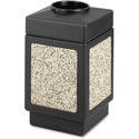 Safco Open Top 38-Gallon Receptacle