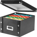 IdeaStream Idea Stream Snap-N-Store Index Card Box with Label Holder