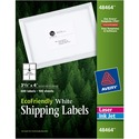 """Avery EcoFriendly Shipping Labels - Permanent Adhesive - 3 1/3"""" W x 4"""" L"""