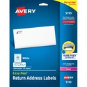 Avery Easy Peel Return Address Label