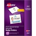 Avery Photo ID Badge Holder