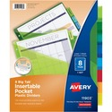 Avery WorkSaver Plastic Pocket Insertable Tab Divider