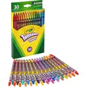 Crayola Twistables 687409 Colored Pencil with Pouch