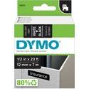 Dymo White on Black D1 Label Tape