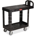 Rubbermaid Commercial HD Flat Shelf Utility Cart
