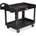 Rubbermaid Medium Utility Cart with Lipped Shelf