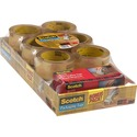 Scotch 3750 Commercial-Grade Packaging Tape Value Pack with Handheld Dispenser