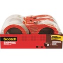 Scotch 3750 Commercial-Grade Packaging Tape on Refillable Dispensers